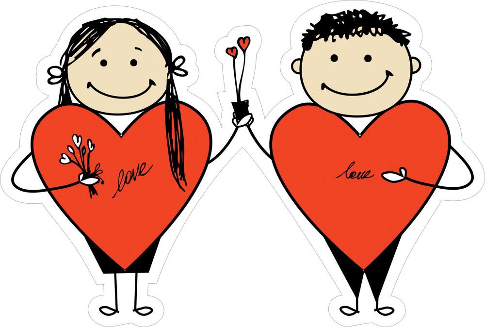 Наклейки Любовь, дизайн #06603