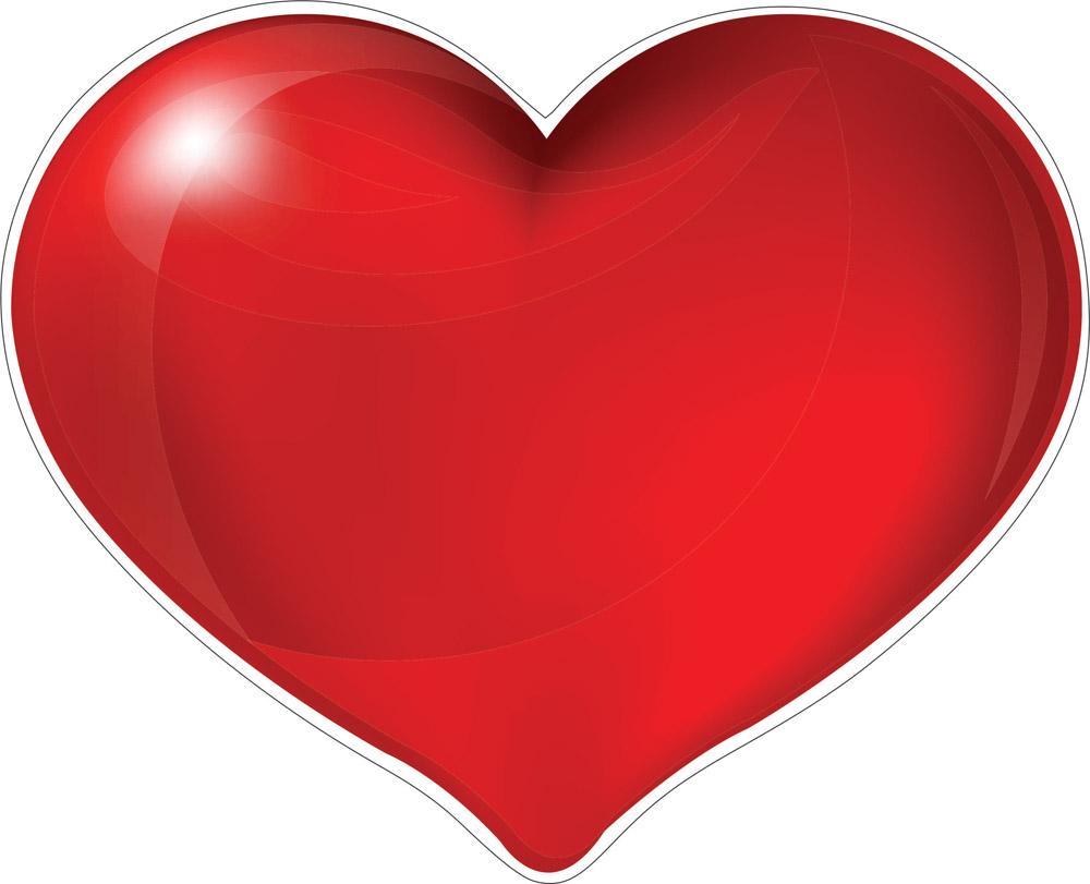 Наклейки Сердце, дизайн #06605