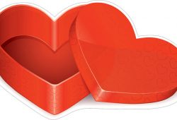 Коробка сердце, дизайн #06609