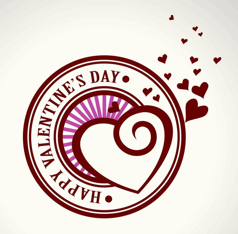 Печать на холсте День святого Валентина, дизайн #05814