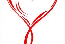 Витое сердце, дизайн #05818