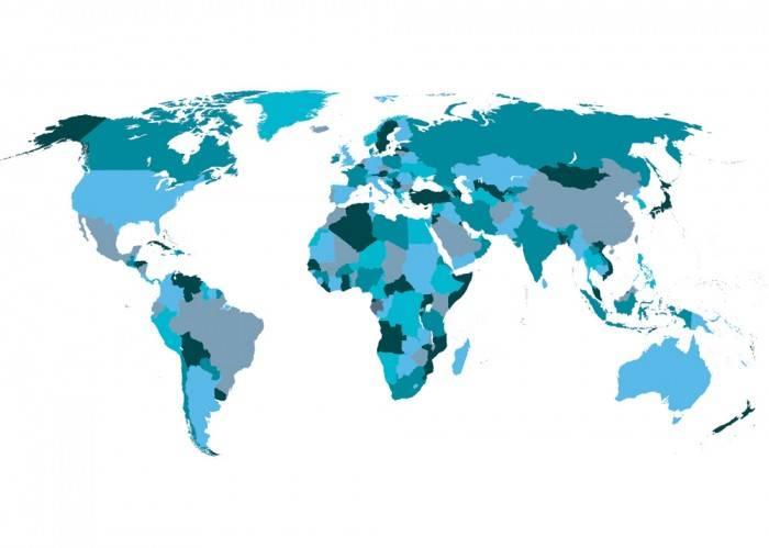 Рольшторы Карта мира
