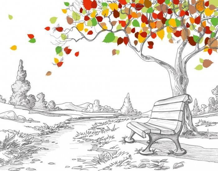 Рольшторы Лавочка под деревом