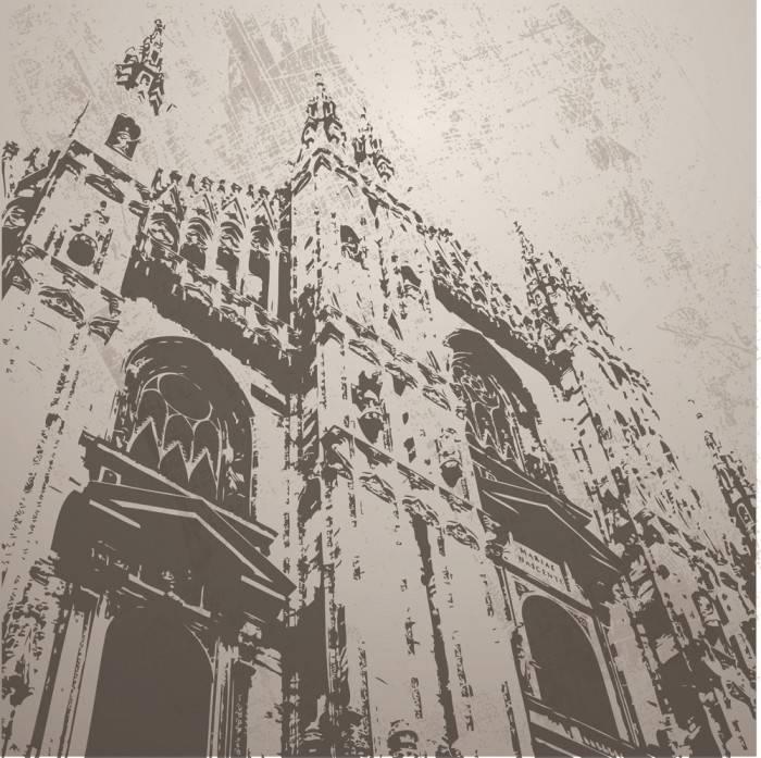 Печать на холсте Париж