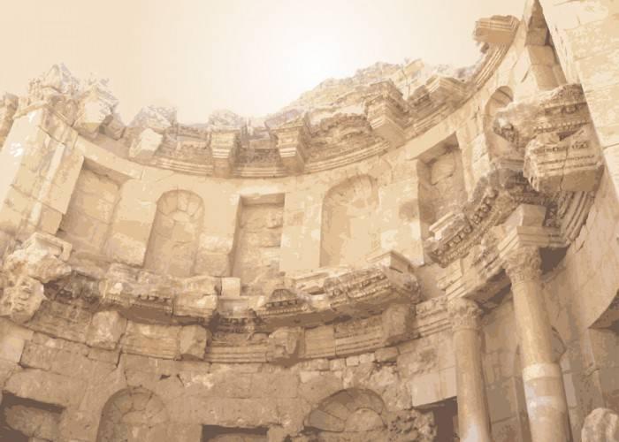 Печать на холсте Старый Рим