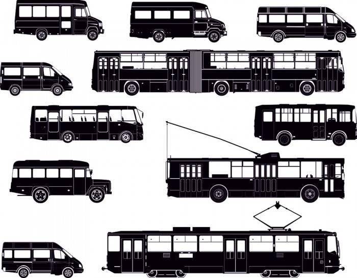 Римские шторы Городской транспорт