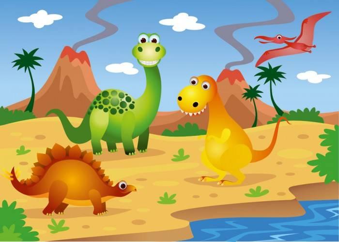 Фотообои под заказ Динозавры