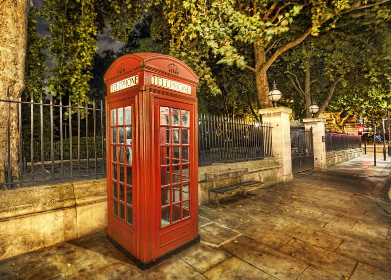 Рольшторы дизайн Телефонная будка