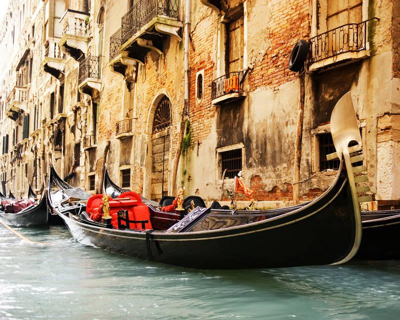 Рольшторы дизайн Венецианские гондолы