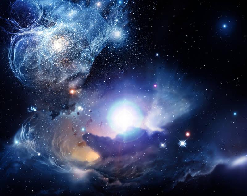 Фотообои под заказ дизайн Глубокий космос