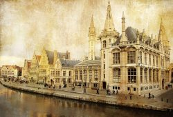 Фотообои под заказ Старый город