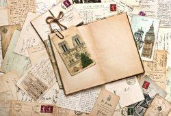 Старые записи и фотографии