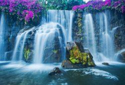 Водопад с порогами