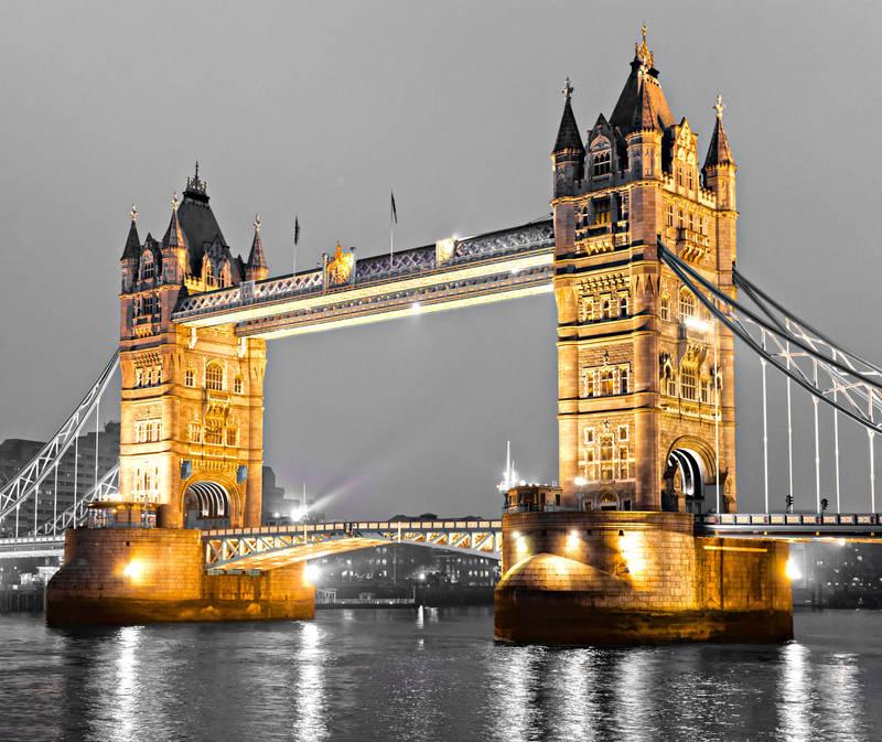 картинки лондон чёрно белые