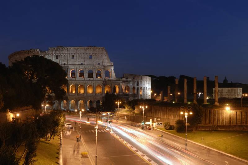Рольшторы Вид на Колизей