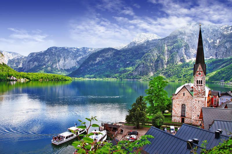 Фотообои под заказ Австрия