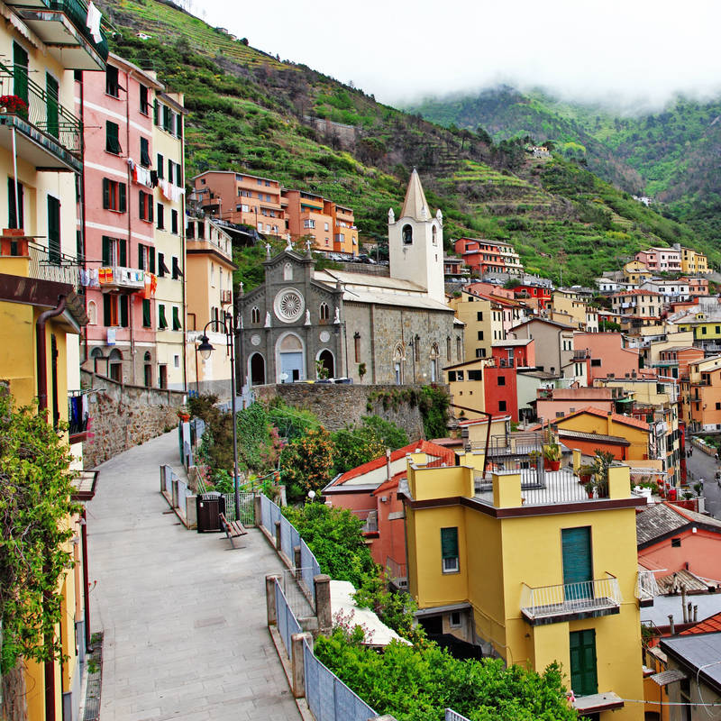 Фотообои под заказ Церковь Сан Джованни Баттиста в Италии