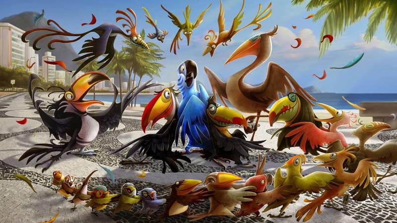Постеры Рио