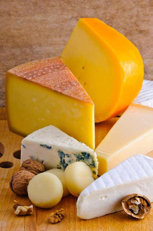 Печать на холсте Сыр