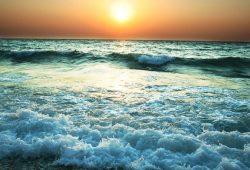 Печать на холсте Море и пляжи