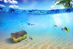 Клад на дне моря