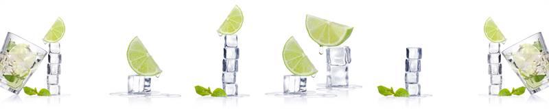 Скинали для кухни Кубики льда