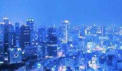 Город в сумерках