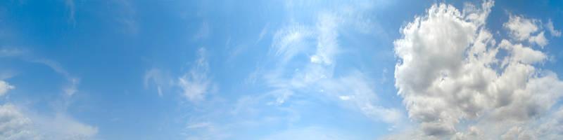 Скинали для кухни Облака в небе