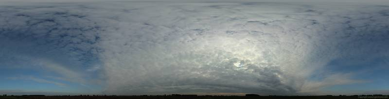 Скинали для кухни Небо в облаках