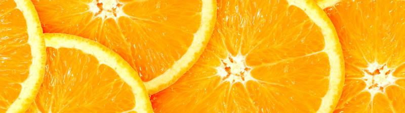 Скинали для кухни Апельсины