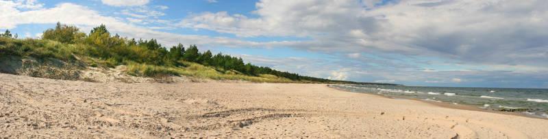 Скинали для кухни Песчаный пляж