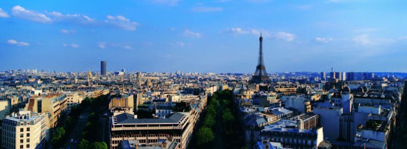 Скинали для кухни Париж