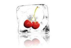 Фрукты и лед