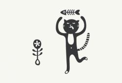 Кошачье счастье