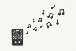 Наклейки Музыка