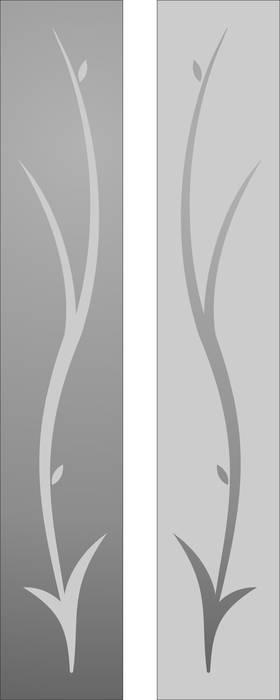 Матирование стекла Дерево