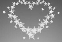 Сердце из звезд