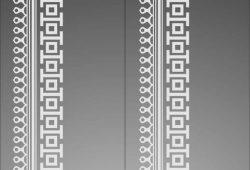 Вертикальный орнамент