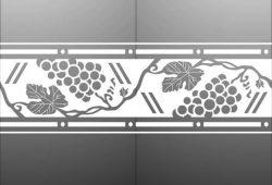 Матирование стекла Еда и напитки