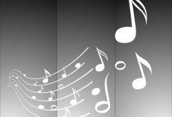 Матирование стекла Музыка