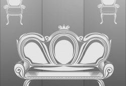 Матирование стекла Интерьер