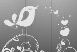 Поющая птичка