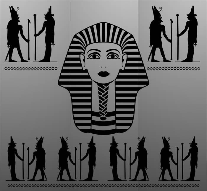 Матирование стекла Египет