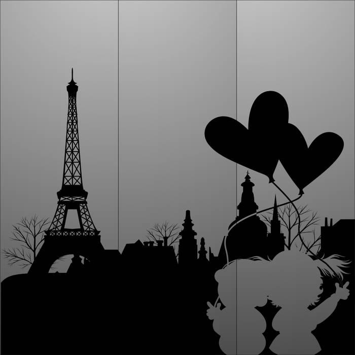 Матирование стекла Париж