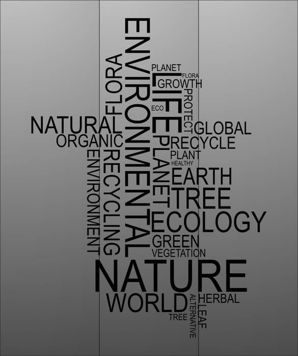 Матирование стекла Природа