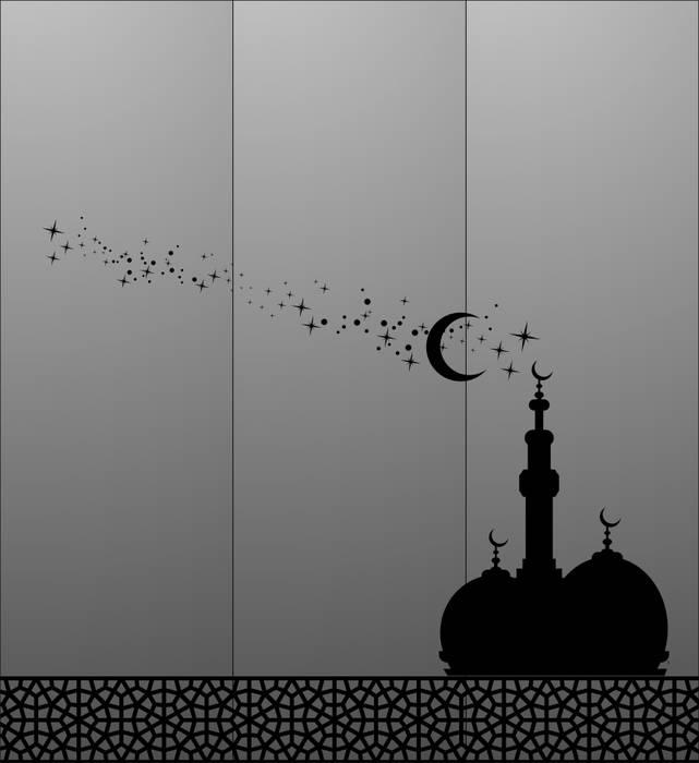 Матирование стекла Стамбул