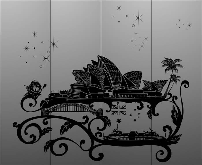 Матирование стекла Сидней