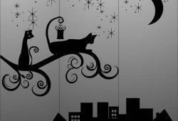 Кот в городе