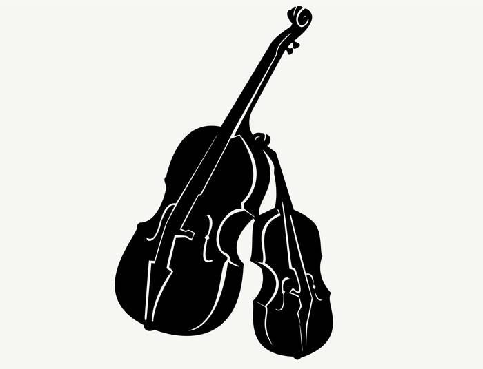 Наклейки Скрипки