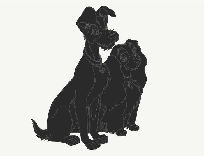 Наклейки Собаки